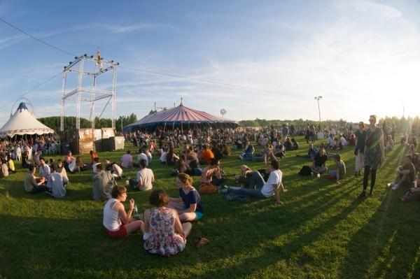 Festival Aucard de Tours, plaine de la Gloriette