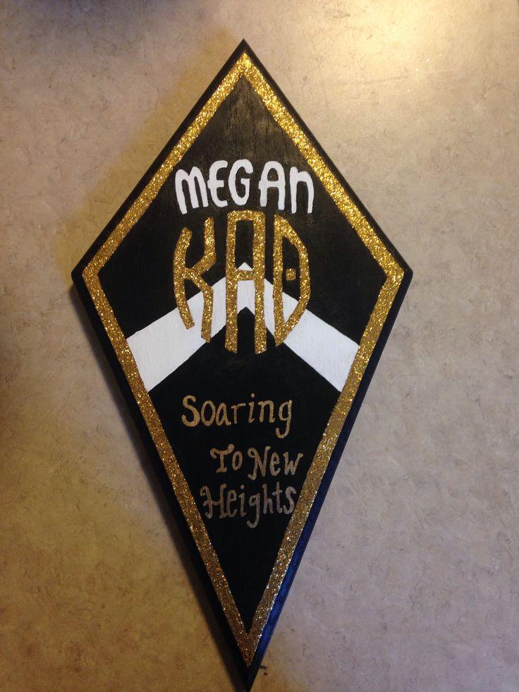Kappa Alpha Theta Kite Plaque. TLAM #bondbond #theta #biglittle