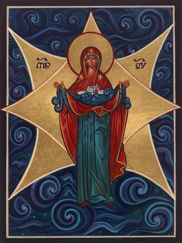 AVE MARIS STELLA Hail Star of the Sea! Hail Lady Mary, our gentle candle in the darkness! Send us the light when we are falling into sorrow when we are cast about by waves of fear and anger when we are drowning in despair. O Mother of Holy Hope renew us with the child-like trust and joy of your son Jesus.