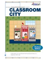 I love teaching Social Studies through simulations. The kids love them and they remember the experience. Interact-Simulations has some amazing ones to choose from. Getting ready to try: CLASSROOM CITY: A Simulation of Local Government and Economics in a Classroom Mini-City