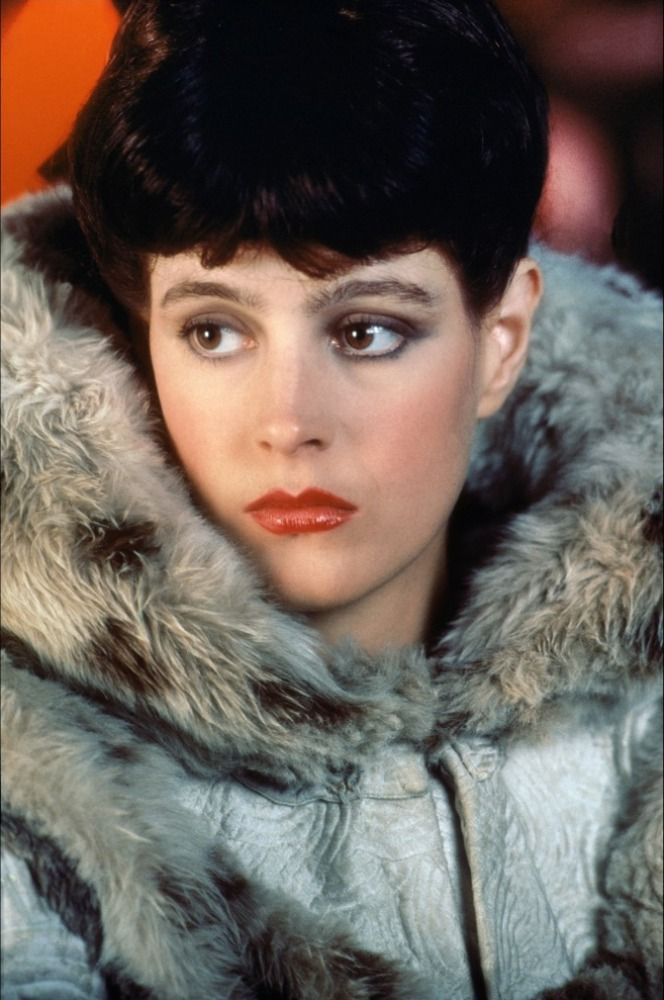 Sean Young in Ridley Scott's Blade Runner (1982). Costumes designed by Michael Kaplan.