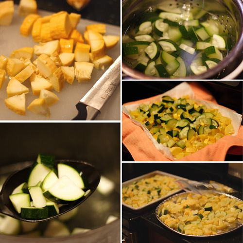 freezing squash and zuchini