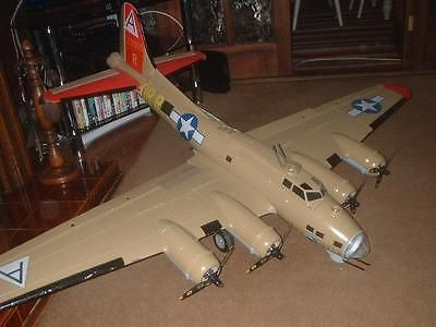 Giant scale rc #model aircraft #nitroplanes #airwings b-17 fortress bind and fly,  View more on the LINK: http://www.zeppy.io/product/gb/2/361760474248/