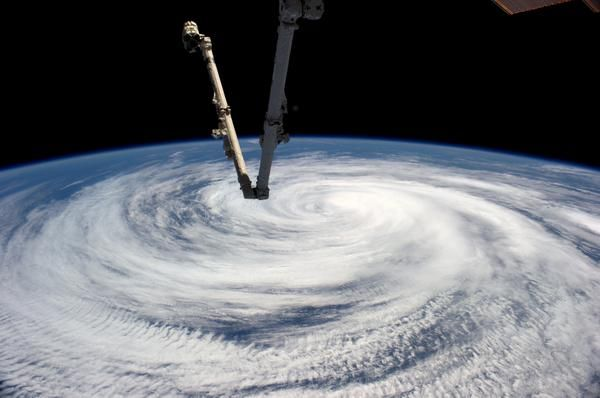 Tropical storm #Marie from #ISS