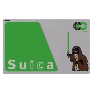 ヤバい。欲しい。  スターウォーズ ジェダイの騎士 SUICAペンギンをデコる ic cardステッカー