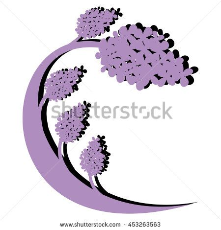Big #wavy #lilac #tree