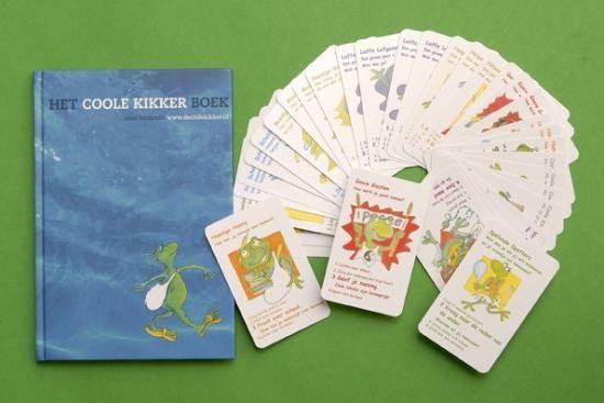 Het Coole Kikkerboek + het kwartetspel  Geschikt voor groep : 6 t/m 8