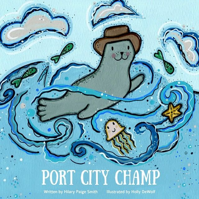 Port City Champ Illustrated by Holly DeWolf Published by Port Saint John 2015
