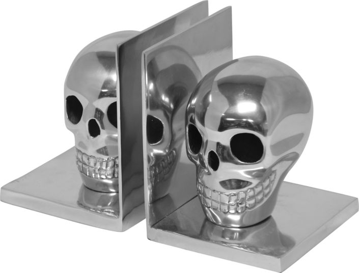 The Skull Bookends From Urban Barn Is A Unique Home Decor