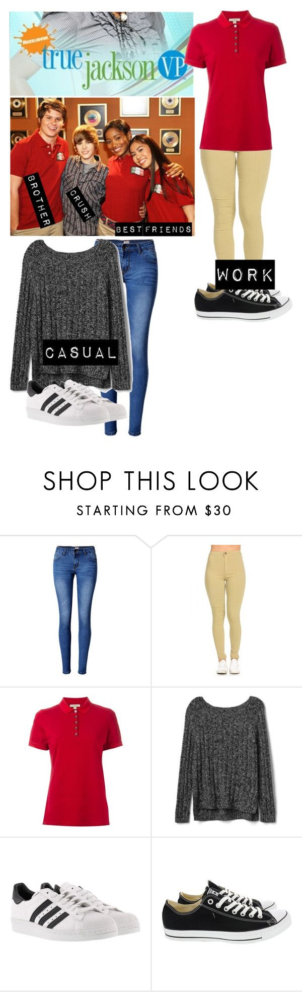 """Me in: 'true Jackson VP'"" by j-j-fandoms ❤ liked on Polyvore featuring Justin Bieber, WithChic, Burberry, Gap, adidas and Converse"
