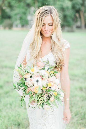 Real bride Maggie in the Wilshire gown, photographed by McKenzie Coyle Photography