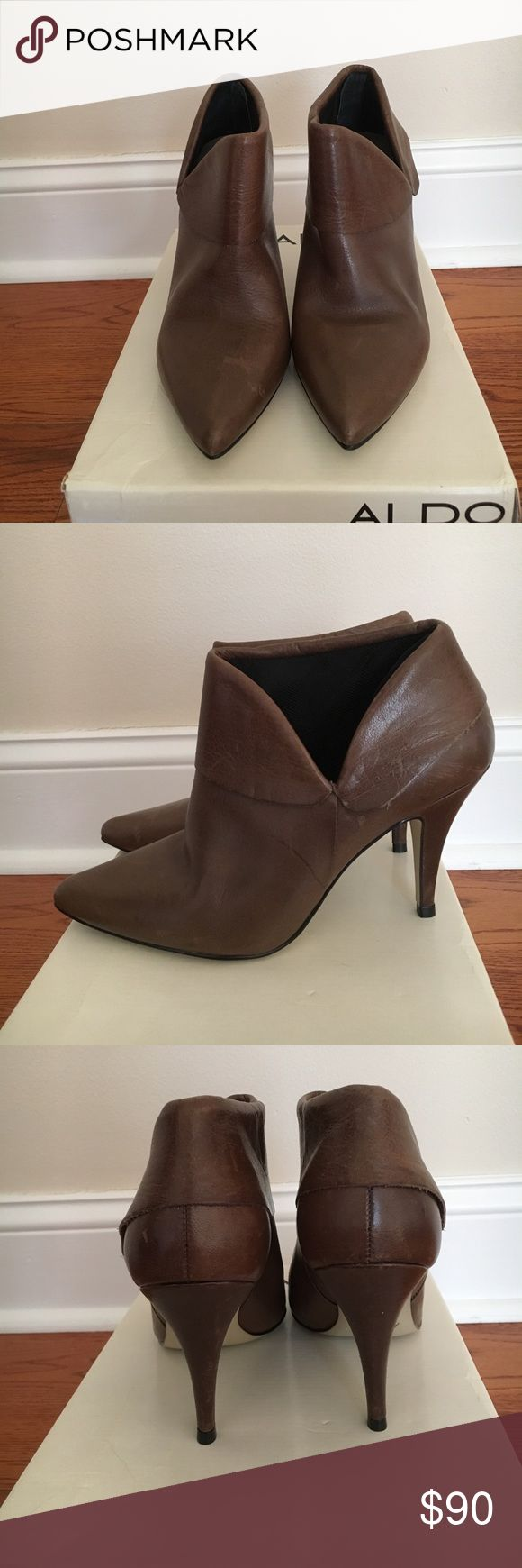 ALDO Boots NWT cute Aldo boots. Heel measures approximately 4 inches. Aldo Shoes Ankle Boots & Booties