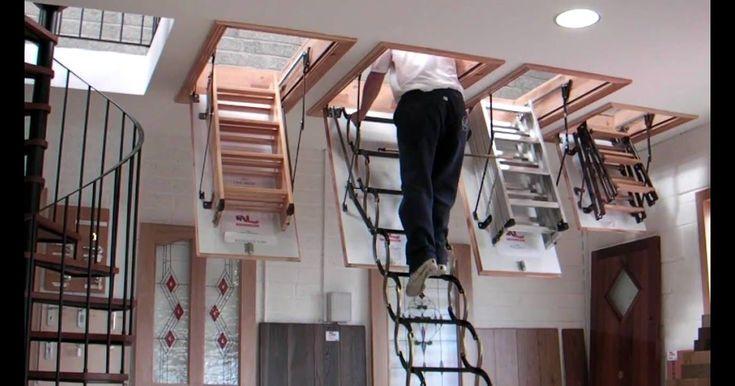 Attic stairs attic ladders loft stairs loft ladders