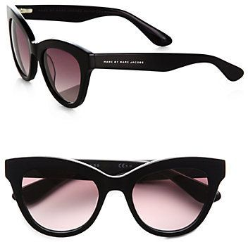 Marc by Marc Jacobs Cat's-Eye Acetate Sunglasses