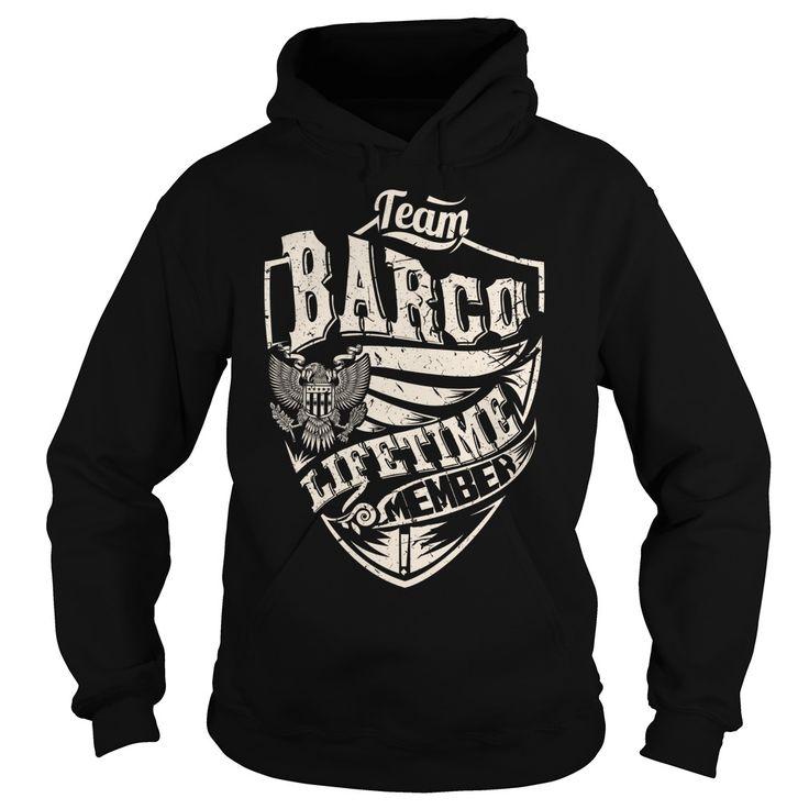 Last Name, Surname Tshirts - Team BARCO Lifetime Member Eagle