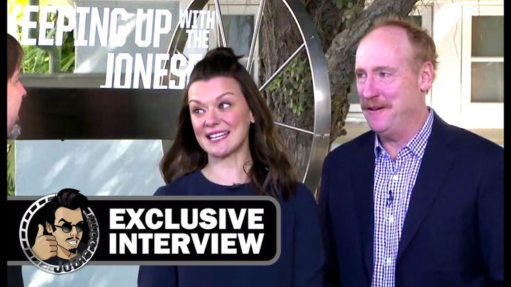 cool Watch Maribeth Monroe & Matt Walsh Interview - KEEPING UP WITH THE JONESES (Exclusive) JoBlo.com