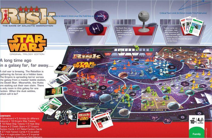 Risk: Star Wars Original Trilogy Edition
