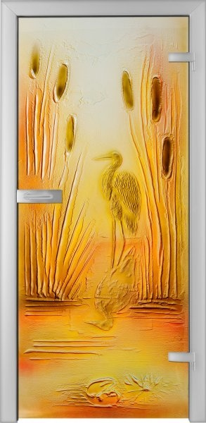 Fused Glass Doors - Airone 01