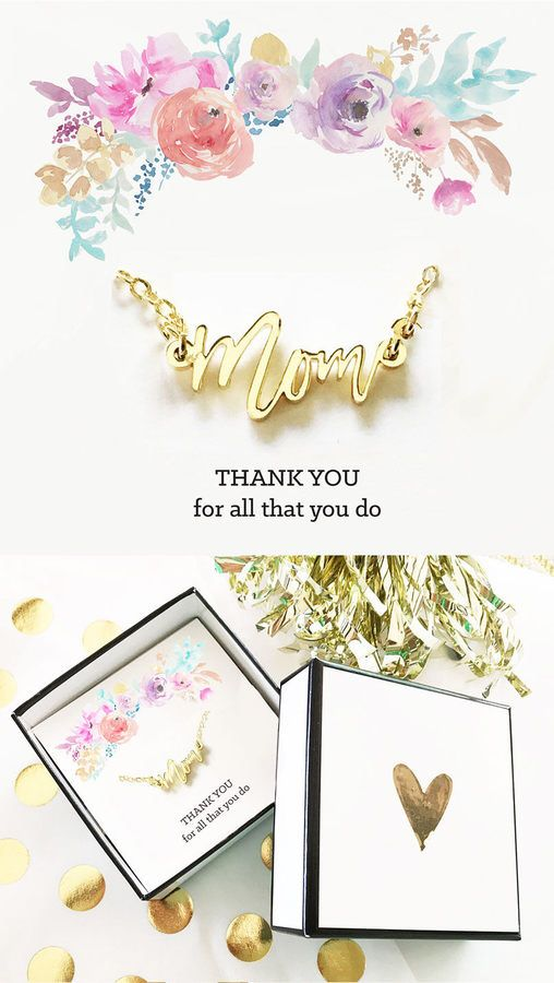 Christmas Gifts for Mom Gifts Mom from Daughter Mom Necklace Thank