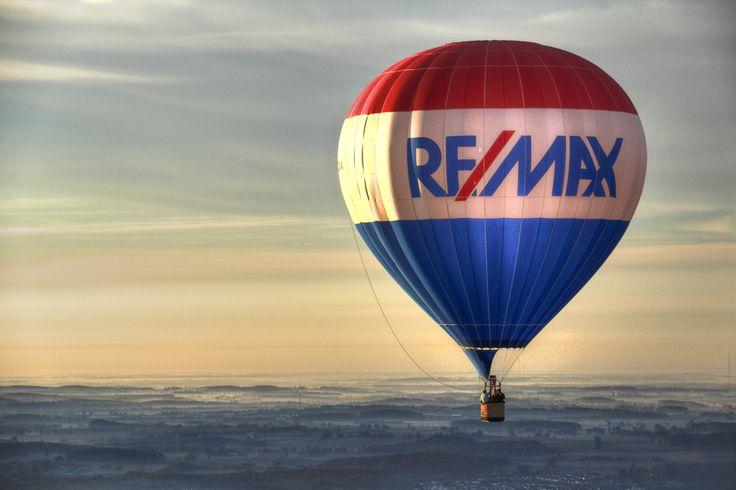 RE/MAX hot air balloon #REMAX #TakeFlight #HotAirBalloons