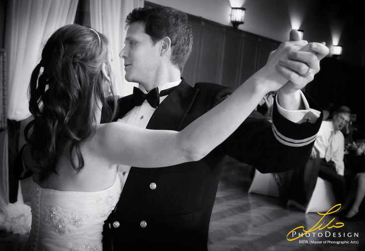 More of the first dance here in black and white.