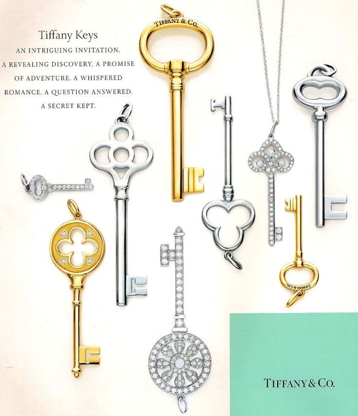 I'm pretty sure if a man ever gets me a tiffany key necklace. i'd marry him.