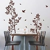 Twin Tree Birds Wall Sticker – NOK kr. 265