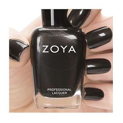 Zoya-Nail-Polish-in-Claudine-ZP690 - Black Metallic...MUST HAVE