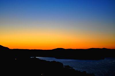 Beaver Lake Sunset Stretched Canvas
