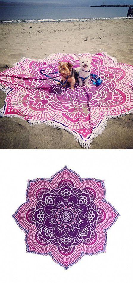 Popular Handicrafts Large Round Lotus Flower Mandala Tapestry 100