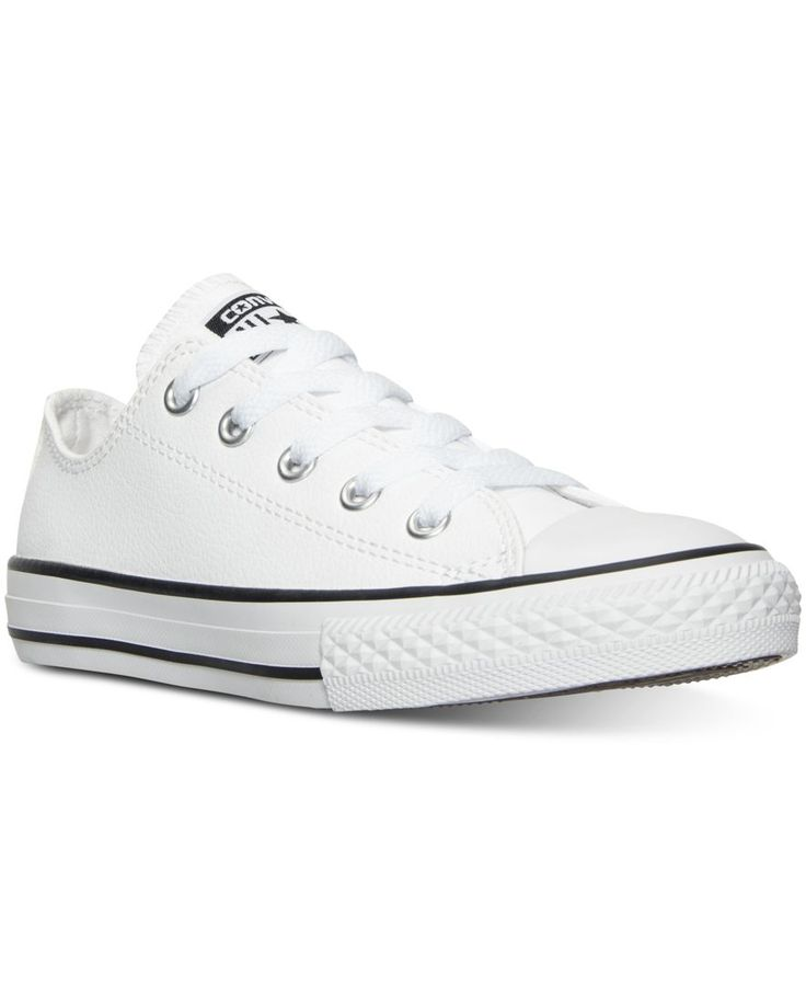 Converse Little Boys' Chuck Taylor All Star Ox Leather Casual Sneakers from  Finish Line