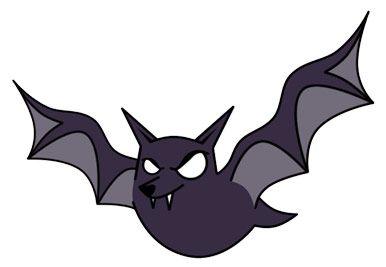 free clip art | Free Cartoon Bat Clip Art