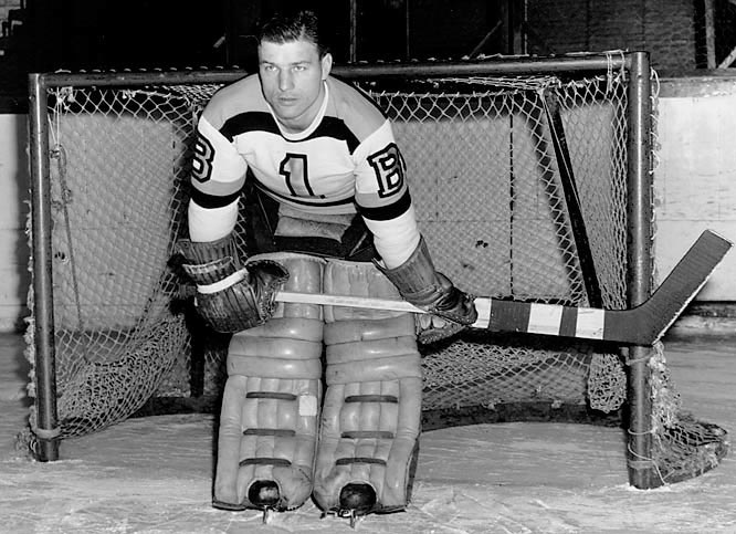 Frank Brimsek   Boston Bruins   NHL   Hockey