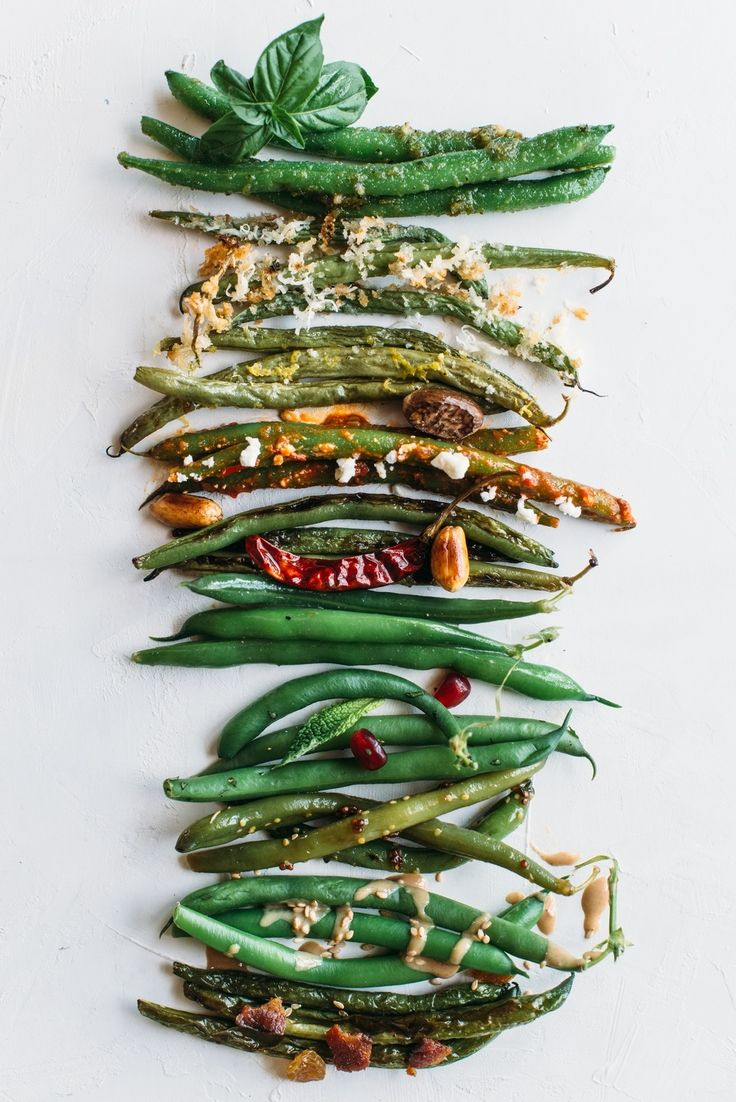 Green beans are an easy, healthy, fast and quick weeknight summer dinner side dish, but they get boring when you serve them over and over again.  Try these 10 recipes and ideas for dressing up fresh farmers market or garden green beans with pantry friendly ingredient. With these ideas, you'll have 10 side dishes to try! Great way to use up and eat more vegetables. Fancy enough for parties too!