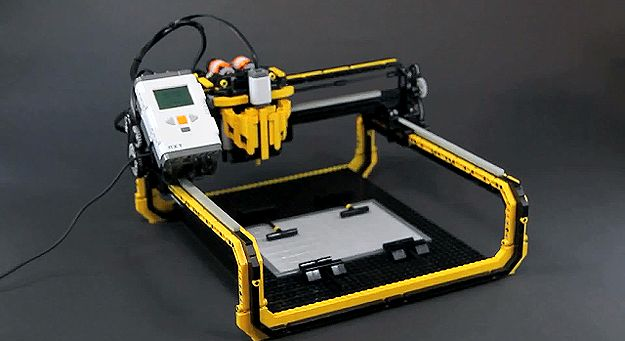 LEGO 3D Milling Machine Prints With Incredible Accuracy & Results #technology