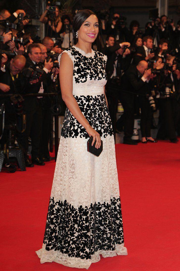 Pin for Later: Le glamour est au rendez-vous au festival de Cannes !  Rosario Dawson à l'avant-première de The Captive.