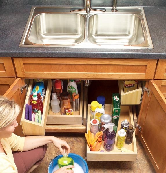 Piet Boon Keuken Stockholm : DIY Storage Under Kitchen Sink