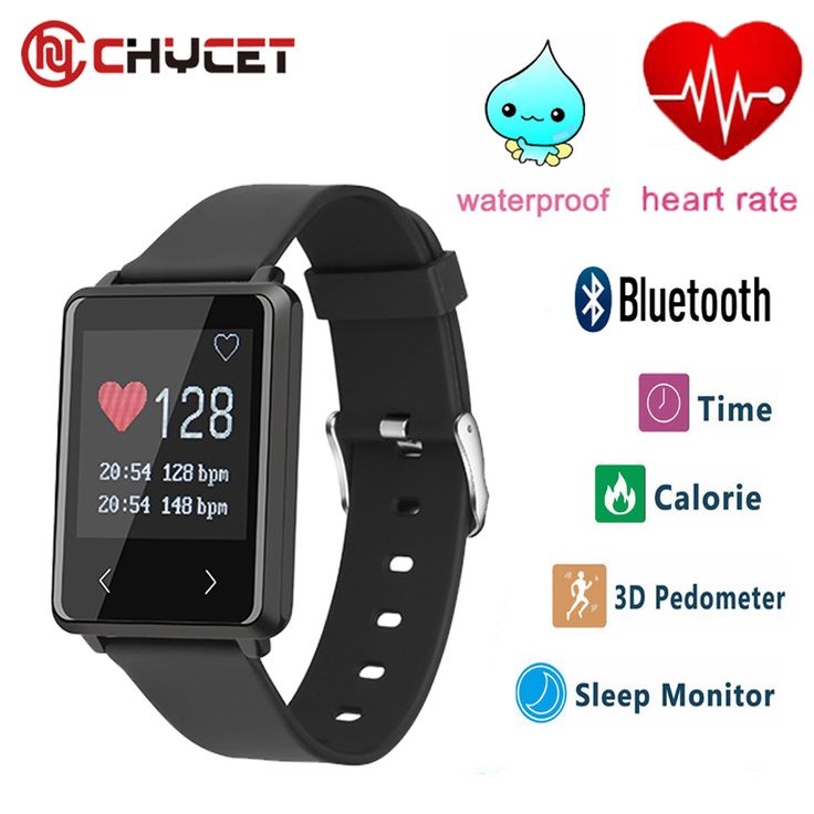 2017 Smart band TK002 Heart Rate monitor Fitness tracker Smart Wristband Bracelet Pedometer watch for IOS Android phone PK D21 #Affiliate