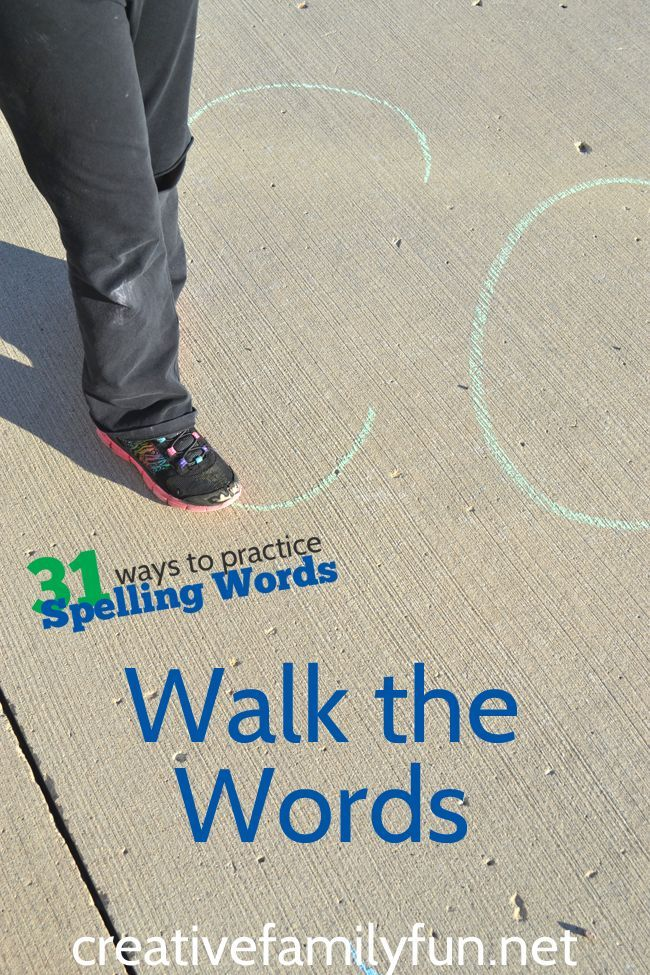 Creative ways to make spelling FUN! - The Outmatched Mama