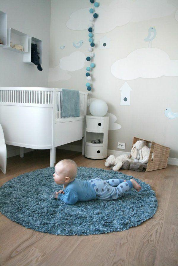 niedliche babyzimmer wandgestaltung inspirierende wandgestaltung ideen babyzimmer pinterest. Black Bedroom Furniture Sets. Home Design Ideas