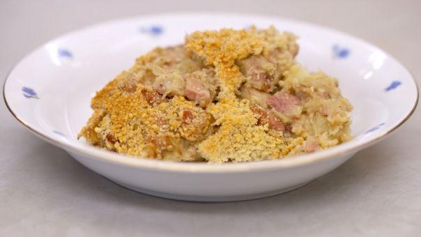 Eén - Dagelijkse kost - stoemp met witloof, ham en kaas * kan alleen maar lekker zijn *