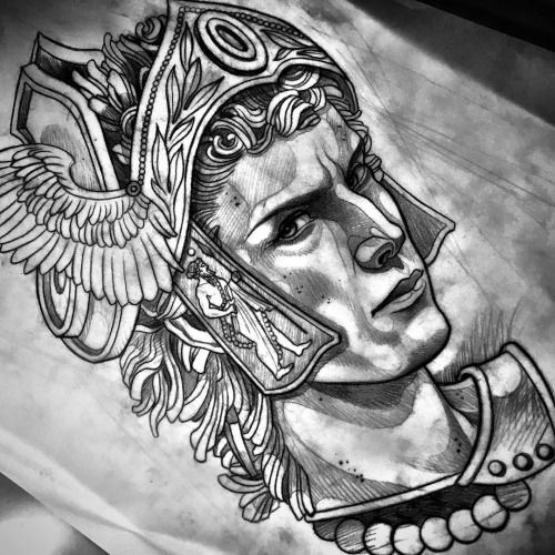 samclarktattoos:  My representation of Perseus for @reece_olive...