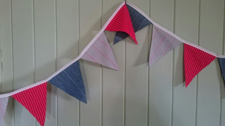 Bunting for school fete