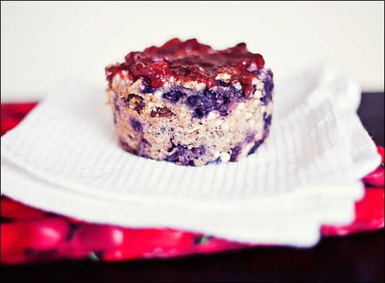Vegan Gluten Free Blueberry Buckwheat Breakfast Bake | Calm Mind Busy Body