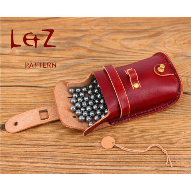 2patterns slingshot case pattern &steel ball bag sewing patterns leather slingshot bag patterns PDF instant download QQW-75 LZpattern design