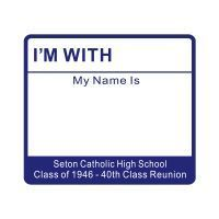 School Reunion Name Tags http://www.pic2fly.com/