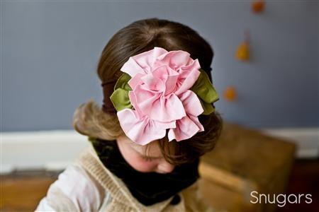 .: Little Girls, Hair Flowers, Flowers Headbands, Rose Headband, Baby Hair Accessories, Flower Headbands, Hair Bows, Knits Flowers, Headbands Hair