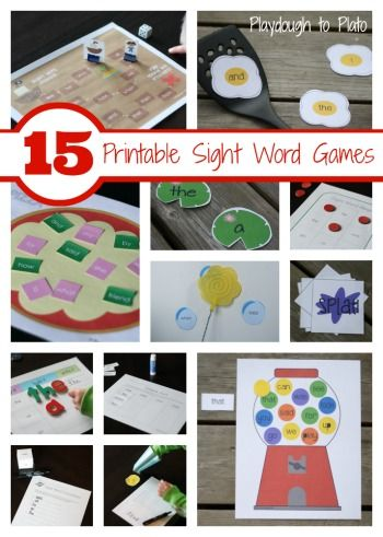 """Works with any sight word list. Type the words once and they automatically plug into the games. A buyer said, """"An absolute must for all needing a creative """"out of the box"""" way to teach kids their sight words."""""""