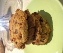Paleo Chewy Choc Chip Cookies