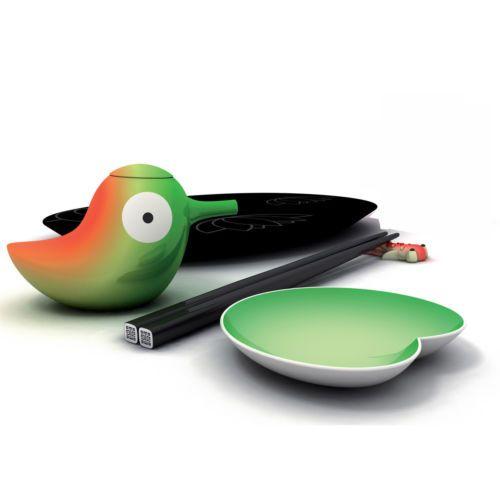Alessi Sushi-Set Lily Pond NEU/OVP